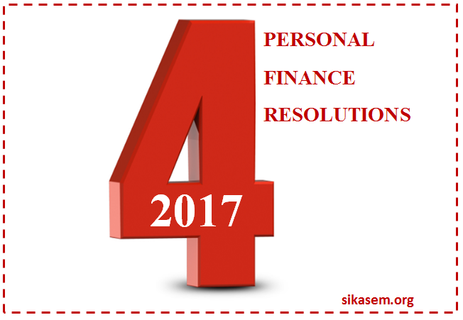 personal finance resolutions