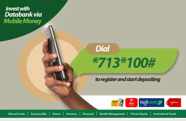 Databank mobile money top-up