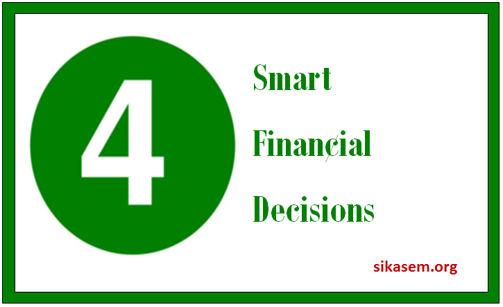 smart financial decisions